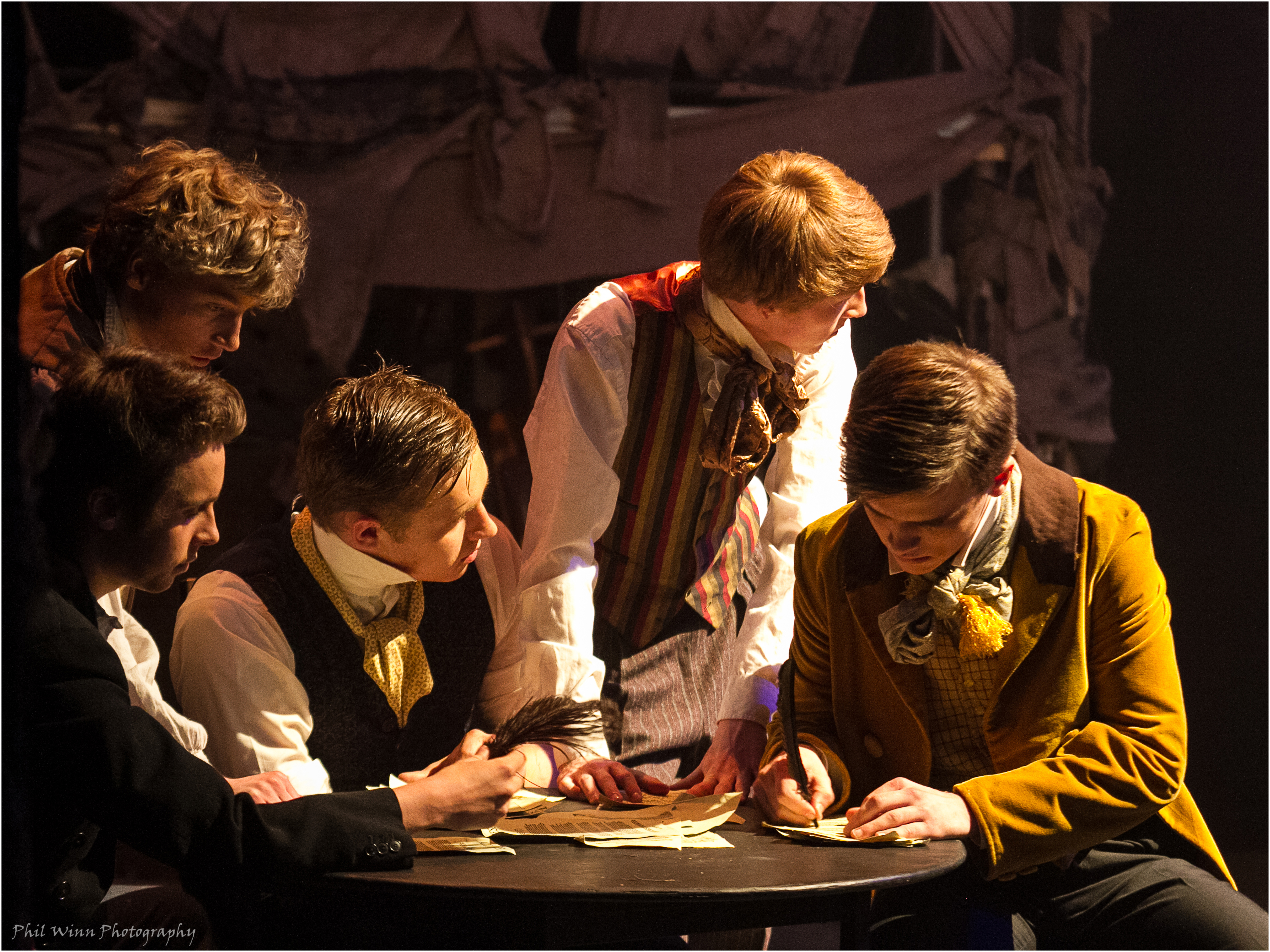 Les Miserables Photography by Phil Winn Photography